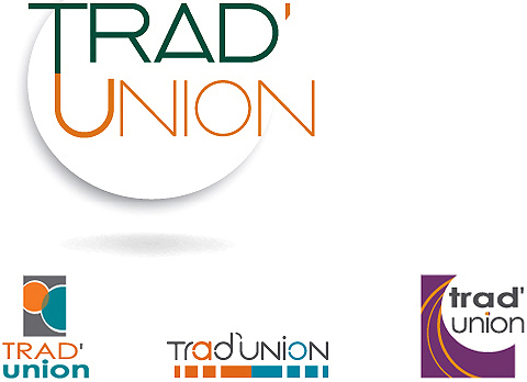 creation du logo trad'union